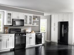 Black Kitchen Appliances Ideas Black And White Kitchen Appliances Kitchen And Decor