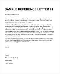 sample student letterleadership recommendation letter sample call