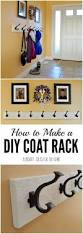 diy entryway bench with hooks bench decoration