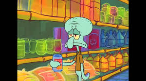 image gallery of squidward mad world