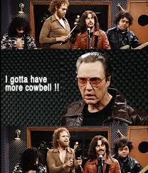 Christopher Walken Cowbell Meme - snl will ferrell gif by maurr find download on gifer