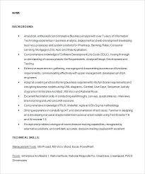 sample resume business business analyst sample resume sample