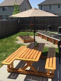 Plans For Wooden Picnic Tables by Best 25 Wooden Picnic Tables Ideas On Pinterest Kids Wooden