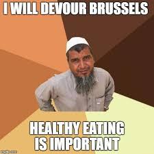 Eating Healthy Meme - ordinary muslim man meme imgflip