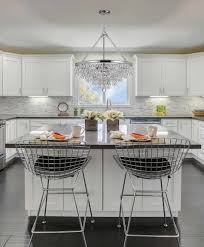 dining room crystal chandeliers kitchen crystal with kitchen modern crystal chandeliers for dining