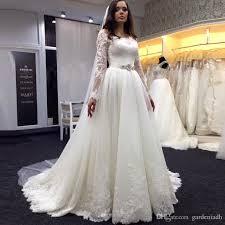 a line princess wedding dress discount vintage sleeve wedding dresses a line scoop neckline