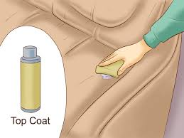 Leather Sofa Dye Repair by How To Dye Leather Furniture 11 Steps With Pictures Wikihow