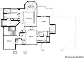 jack jill bath separate walk closets house plans 38248