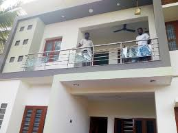 design works at home stainless steel balcony work recently done at near to nagercoil