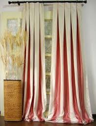 Look On Top Of The Curtain Pleated