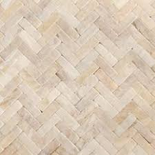12 in x 12 in chiaro tumbled natural stone mosaic subway wall tile