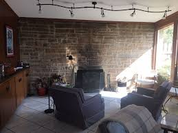 brady bunch house living room