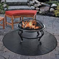 Firepit Mat Improvements Firepit Grill Mat 54 Patio Garden