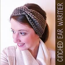 ear warmer headband ravelry cinched ear warmer headband pattern by langford
