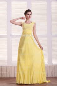 beautiful long evening dresses for sale yellow online 2016