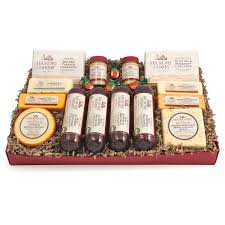 food gift ideas gourmet food gift baskets best cheeses sausages meat seafood