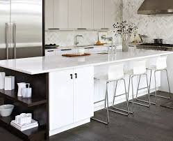 modern kitchen island table kitchen white kitchen island with open shelves