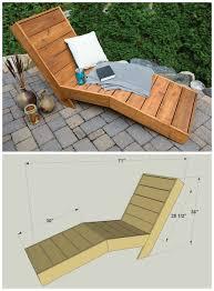 Diy Outdoor Lounge Furniture Nice Diy Chaise Lounge With Wooden Chaise Lounge Chair Plans Sign
