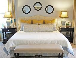 bedroom ideas yellow and gray interior design