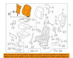 lexus hs250h accessories lexus toyota oem hs250h front seat cushion cover top back left