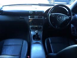 mercedes c180k kompressor black 2004 avantgarde sport c class