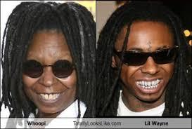 Lil Wayne Be Like Memes - whoopi totally looks like lil wayne memebase funny memes