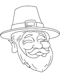 leprechaun face coloring download free leprechaun face