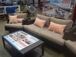 Agio International Patio Furniture Costco - patio patio furniture at costco brown square modern wooden patio