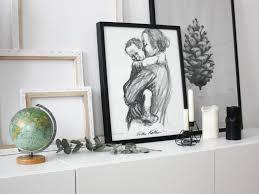 Schwarz Weis Wohnzimmer Bilder Wohnen In Schwarz Weiß