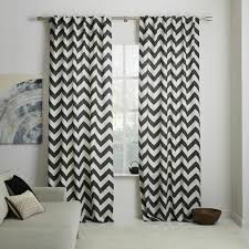 Black And White Modern Curtains Contemporary Curtains 75 Ideas That Enrich The Home Home Dezign