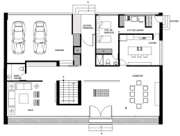 floor plan of a house ground floor plan house hidalgo mexico bitar arquitectos home