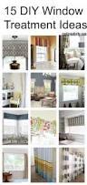 diy window treatment ideas