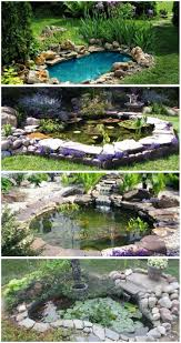 Backyard Garden Ponds Backyards Impressive Backyard Koi Pond Ideas Backyard Images