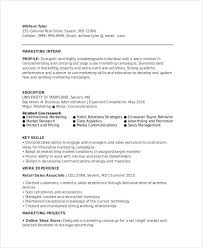marketing skills resume 45 marketing resume templates pdf doc free premium templates