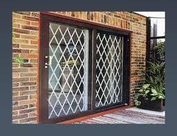 Patio Door Gates Folding Security Gates Are Your Number One Solution For Theft