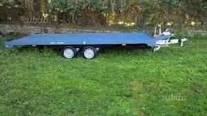carrello porta auto usato vendesi usato carrello porta auto e cose in vendita roma