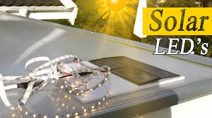 Solar Led Light Kit by How To Solar Power Led Lights For Decoration Rclifeon Youtube