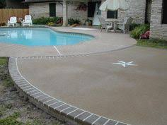 polymer based spray on cement coating pool deck google search