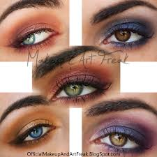 makeup and art freak how to make your eye color pop