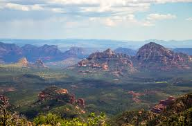 view of sedona from end of the world flagstaff az imgur