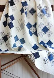 white and blue quilts co nnect me