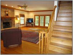 neutral paint ideas for living room with oak trim google search