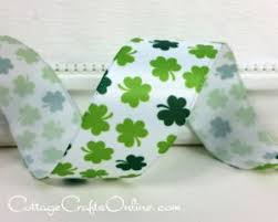 shamrock ribbon st s day ribbons