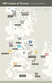 Game Of Thrones Map Of The World by 5 Awesome Game Of Thrones Charts Maps And Infographics