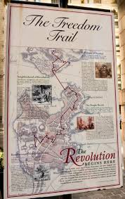 1775 Map Of Boston by The Freedom Trail Part 2 Boston Massachusetts Usa Where In