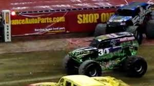 monster truck crash videos monster truck jam detroit mi january 14 2012 video dailymotion