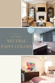 our top 20 neutral paint colors