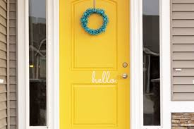 yellow front door yellow front door awesome come on in nine nifty front doors finding
