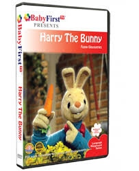 rabbit dvd harry the bunny dvds babyfirsttv