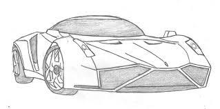 cartoon sports car black and white fast car drawings dolgular com